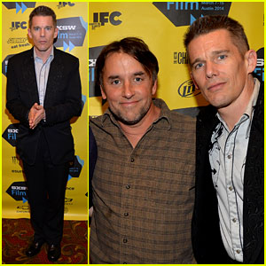 Ethan Hawke Supports His Film 'Predestination' at SXSW 2014