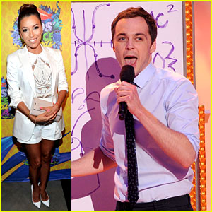 Eva Longoria & Jim Parsons - Kids' Choice Awards 2014