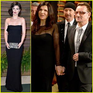 Eve Hewson & Bono Attend Vanity Fair Oscar Party After Performing!