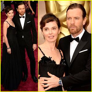 Ewan McGregor Attends Oscars 2014 with Wife Eve Mavrakis!