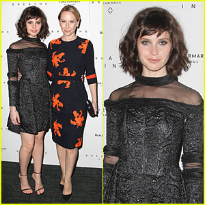 Felicity Jones Lets Us 'Breathe In' Her Sheer Beauty in NYC!