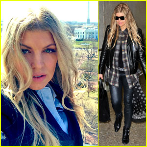 Fergie for President? See Her Cool White House Pic Here!