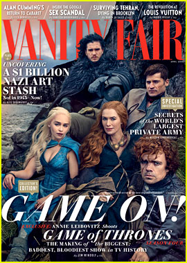 'Game of Thrones' Cast Covers 'Vanity Fair' in Full Costume!