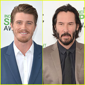 Garrett Hedlund & Keanu Reeves Ooze Scruffy Sex Appeal at Independent Spirit Awards 2014!