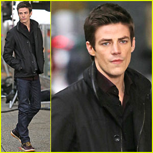 Grant Gustin Begins Filming 'The Flash', Is On 'Cloud 9'!