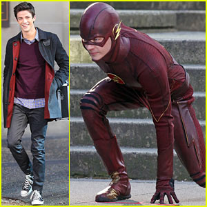 Grant Gustin's 'Flash' Producers Want You to Think His Costume Reveal Broke Twitter!