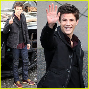 Grant Gustin Plans on Getting a 'The Flash' Tattoo!