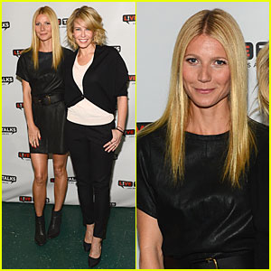 Gwyneth Paltrow Joins Chelsea Handler For 'Live Talks' - Watch Now!