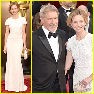 Harrison Ford & Calista Flockhart - Oscars 2014 Red Carpet