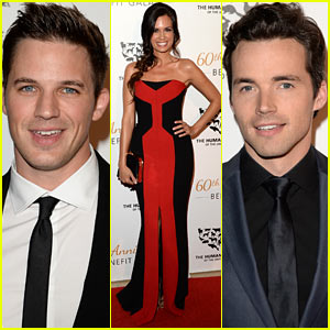 Heartthrobs Matt Lanter & Ian Harding Support a Good Cause at the Humane Society Gala!