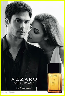 Ian Somerhalder Is Really Seducing Us with 'Azzaro Pour Homme'!