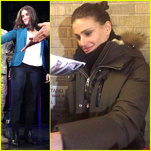 Idina Menzel Begins Previews of New Broadway Show 'If/Then'!