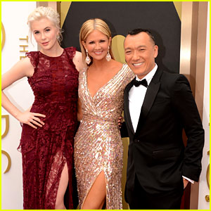 Ireland Baldwin & Nancy O'Dell - Oscars 2014 Red Carpet