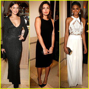 Irina Shayk & Alyssa Miller: Pre-Oscars Party Pretty!