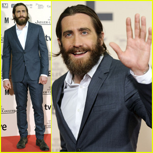 Jake Gyllenhaal Suits Up for 'Enemy' Premiere in Madrid!