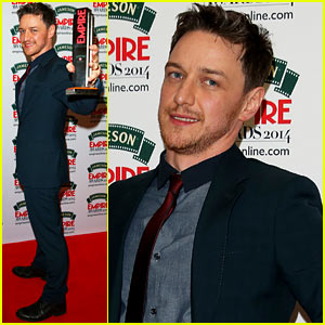 James McAvoy Wins Best Actor for 'Filth' at Jameson Empire Awards 2014!