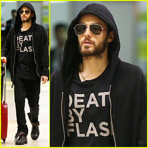 Jared Leto on Discussing Post Oscar Roles: I Need to Clear it With the CIA First