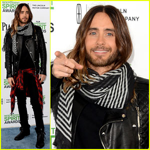 Jared Leto Thanks 'Future Ex-Wife' Lupita Nyong'o at Independent Spirit Awards 2014