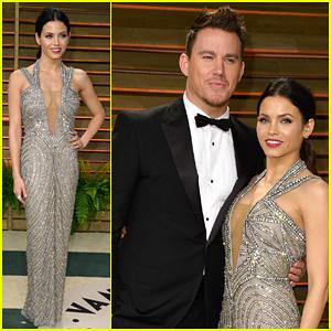 Jenna Dewan & Channing Tatum - Vanity Fair Oscars Party 2014