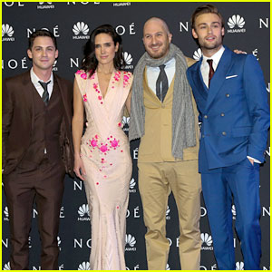 Jennifer Connelly & Logan Lerman: 'Noah' Premiere in Mexico!