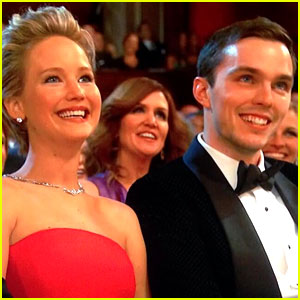 Jennifer Lawrence: Oscars 2014 with Boyfriend Nicholas Hoult!