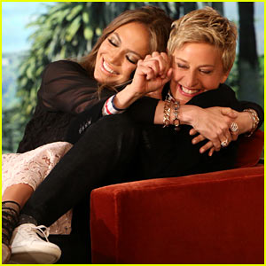 Jennifer Lopez Rubs Her Germs All Over Ellen DeGeneres!