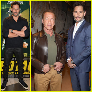 Joe Manganiello & Arnold Schwarzenneger Have Some Fun on 'Despierta America'!