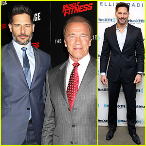 Joe Manganiello Had to Bring It For His Childhood Hero Arnold Schwarzenegger!