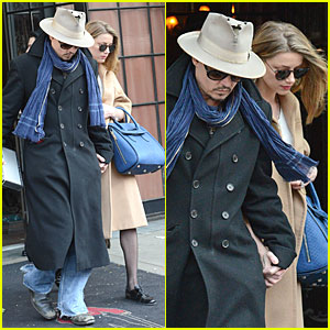 Johnny Depp & Amber Heard Want You to Check Out Their Love!