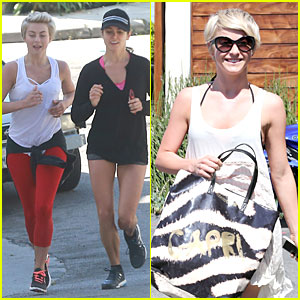 Julianne Hough & Nikki Reed Get Ready to Run After Major Earthquake!