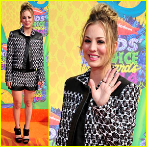 Kaley Cuoco Makes a 'Big Bang' at  Kids' Choice Awards 2014