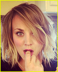 Kaley Cuoco Debuts New Short Haircut!