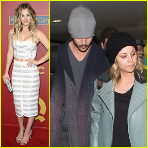 Kaley Cuoco Shows Some Skin at QVC Red Carpet Event!