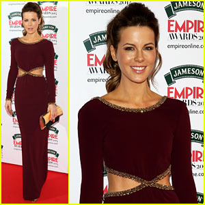 Kate Beckinsale's Sexy Cutout Dress Puts Her Rockin' Figure on Display at Jameson Empire Awards 2014