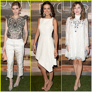 Kate Mara & Camilla Belle Are Classy Ladies at the H&M Conscious Collection Dinner!