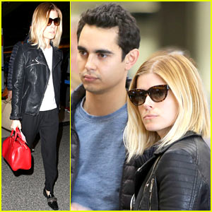 Kate Mara & Max Minghella Take to the Skies Together!