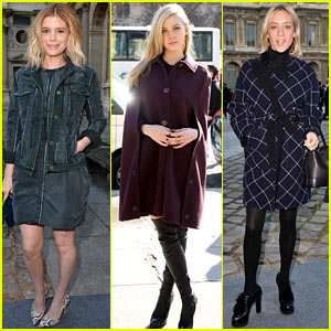 Kate Mara & Transformers' Nicola Peltz Join Many Celebs at Louis Vuitton Fashion Show!