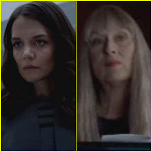 Katie Holmes & Meryl Streep: 'The Giver' Trailer First Look - Watch Now!