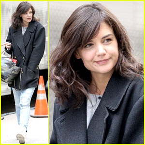 Katie Holmes Prepares to Film 'Dangerous Liaisons' in Her Return to Television!