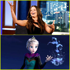 Scandal's Katie Lowes Did Idina Menzel's Motion Work for 'Frozen'!