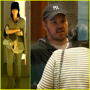 Katy Perry Catches a Movie with Friends in Los Angeles