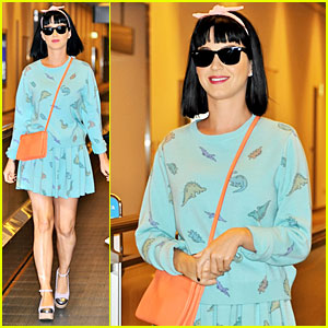 Katy Perry Flashes Happy Smile After Reported John Mayer Split