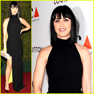 Katy Perry Shows Some Leg in Sexy Dress at MOCA Gala 2014!