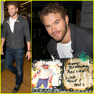 Kellan Lutz Continues Birthday Celebrations with Abbot + Main!