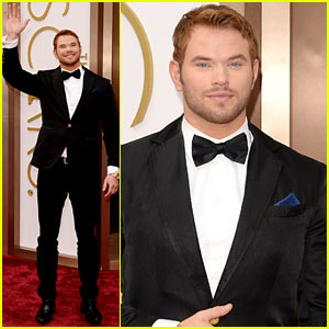 Kellan Lutz - Oscars 2014 Red Carpet