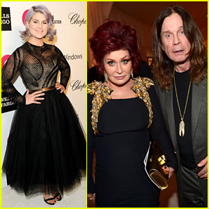 Kelly Osbourne: Elton John Oscars Party 2014 with Mom & Dad!