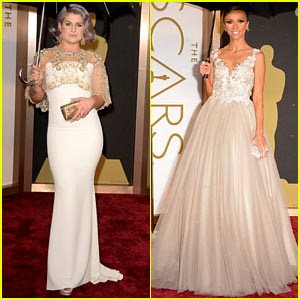 Kelly Osbourne & Giuliana Rancic - Oscars 2014 Red Carpet