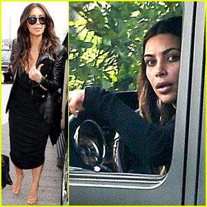 Kim Kardashian Involved in Minor Car Accident in Beverly Hills