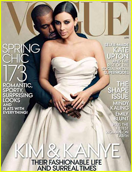 Kim Kardashian Covers 'Vogue' with Kanye West: 'Dream Come True'!