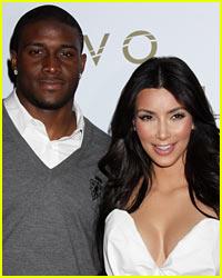 Kim Kardashian & Reggie Bush Reportedly Have an Awkward Run-In!